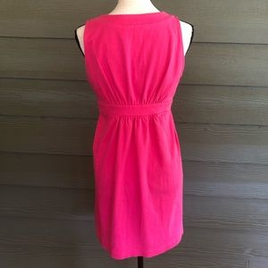 J. Crew Dresses - 🍌J Crew sleeveless Pink 100% Cotton dress Small